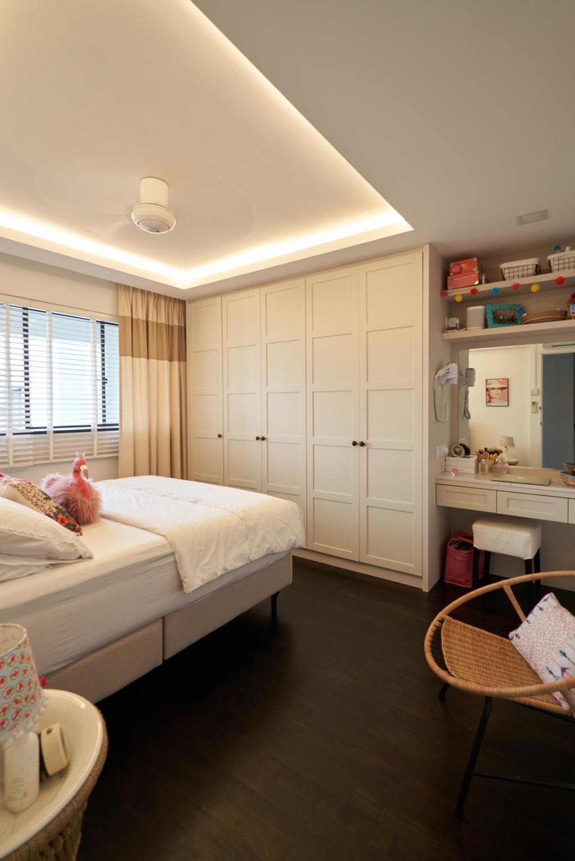 Modern, HDB, Bedroom, Bedok Reservoir Road, Interior Designer, Ovon Design