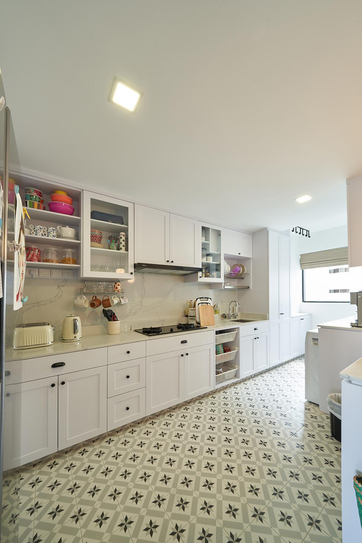 Modern, HDB, Kitchen, Bedok Reservoir Road, Interior Designer, Ovon Design
