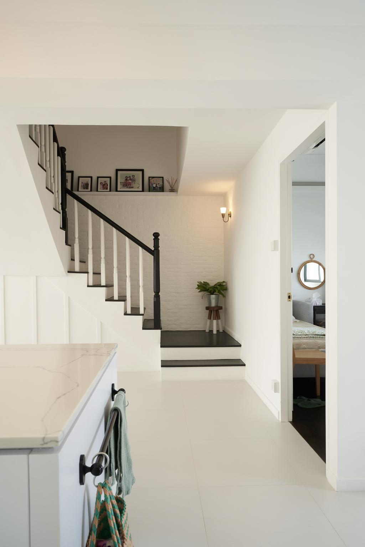 Modern, HDB, Bedok Reservoir Road, Interior Designer, Ovon Design