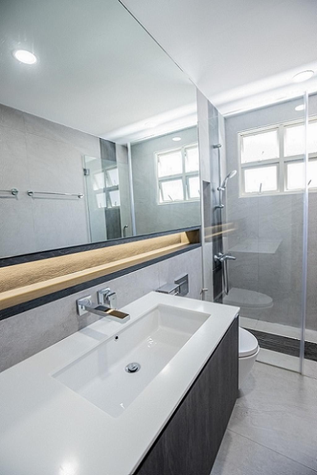Contemporary, Landed, Bathroom, Cashew Crescent, Interior Designer, Baum Project Pte Ltd, Minimalistic