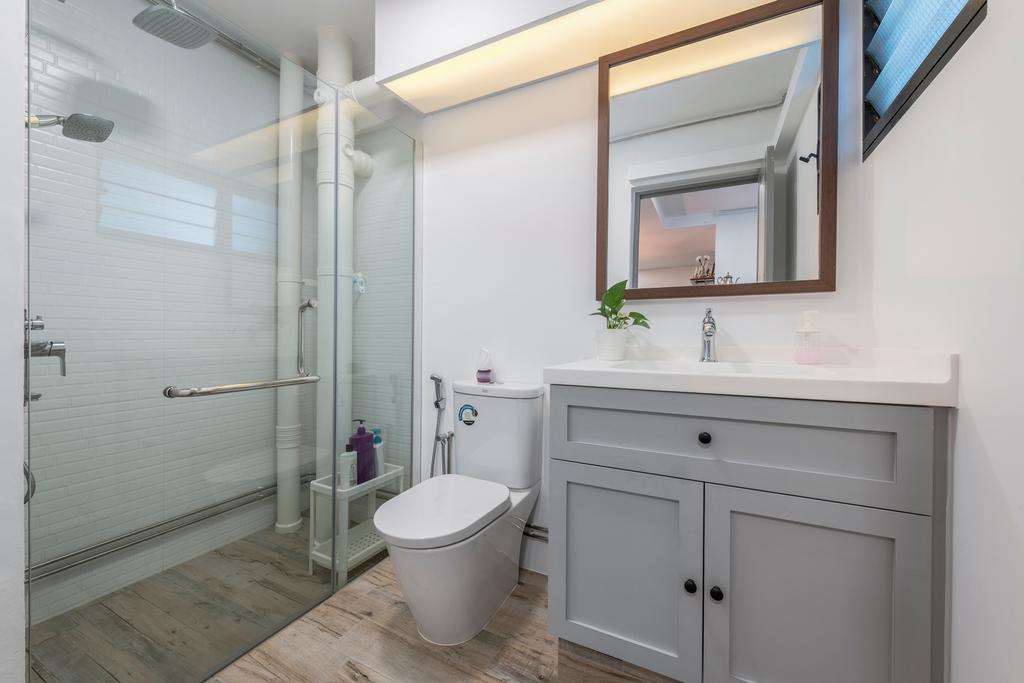 Contemporary, HDB, Bathroom, Segar Road, Interior Designer, PHD Posh Home Design