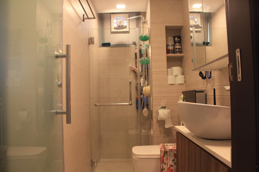 Contemporary, Condo, Bathroom, Tanamera Crescent, Interior Designer, Step Dezign