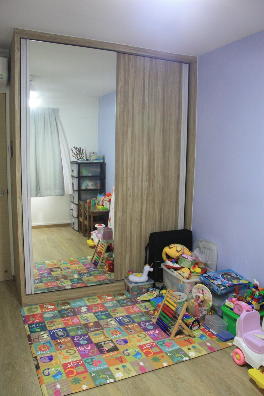 Modern, HDB, Bedroom, Bedok North Street 2, Interior Designer, Step Dezign