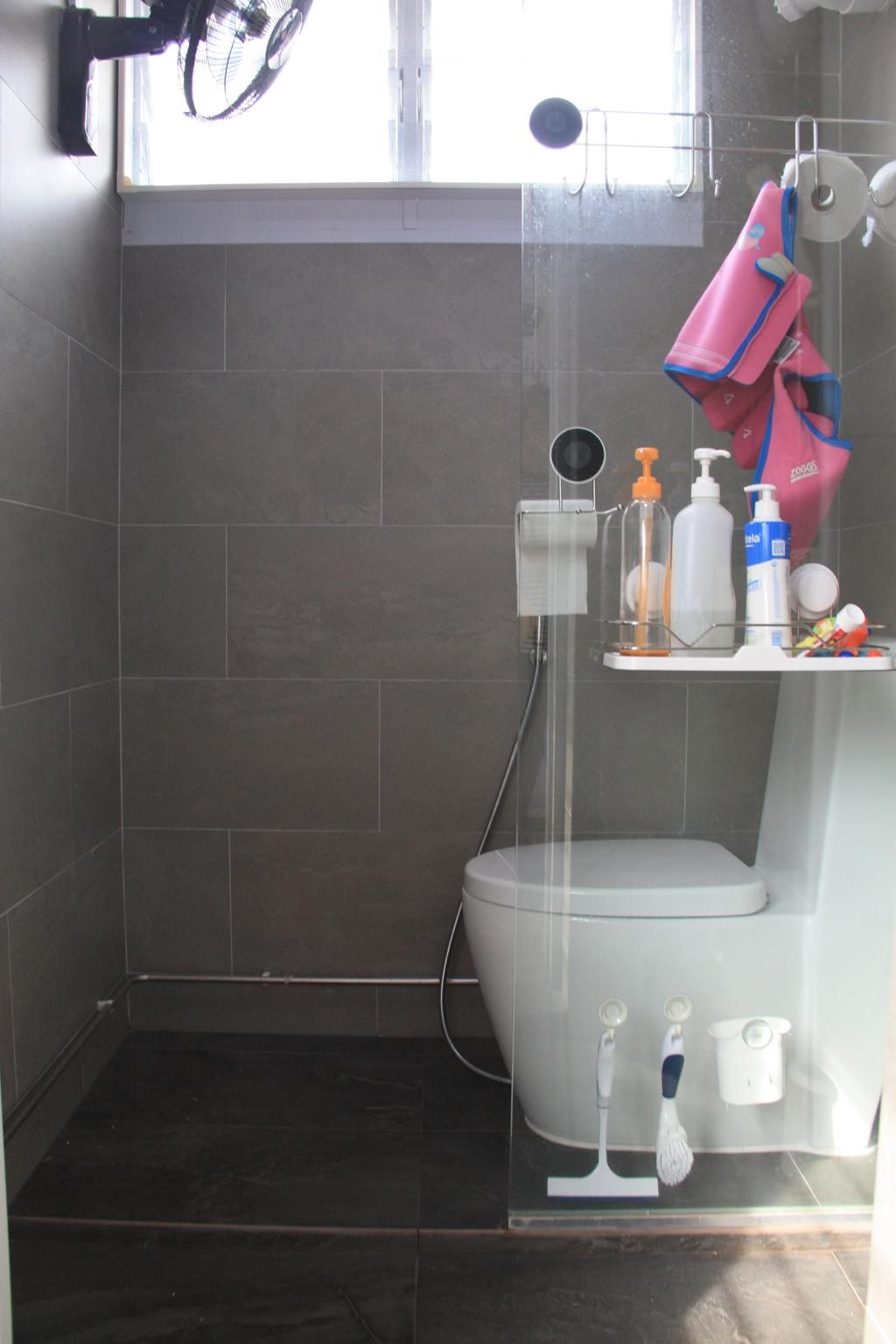 Modern, HDB, Bathroom, Bedok North Street 2, Interior Designer, Step Dezign