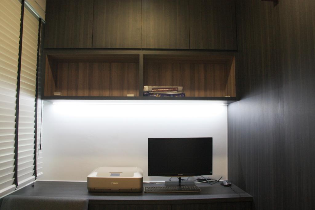 Contemporary, HDB, Study, Sumang Lane, Interior Designer, Step Dezign