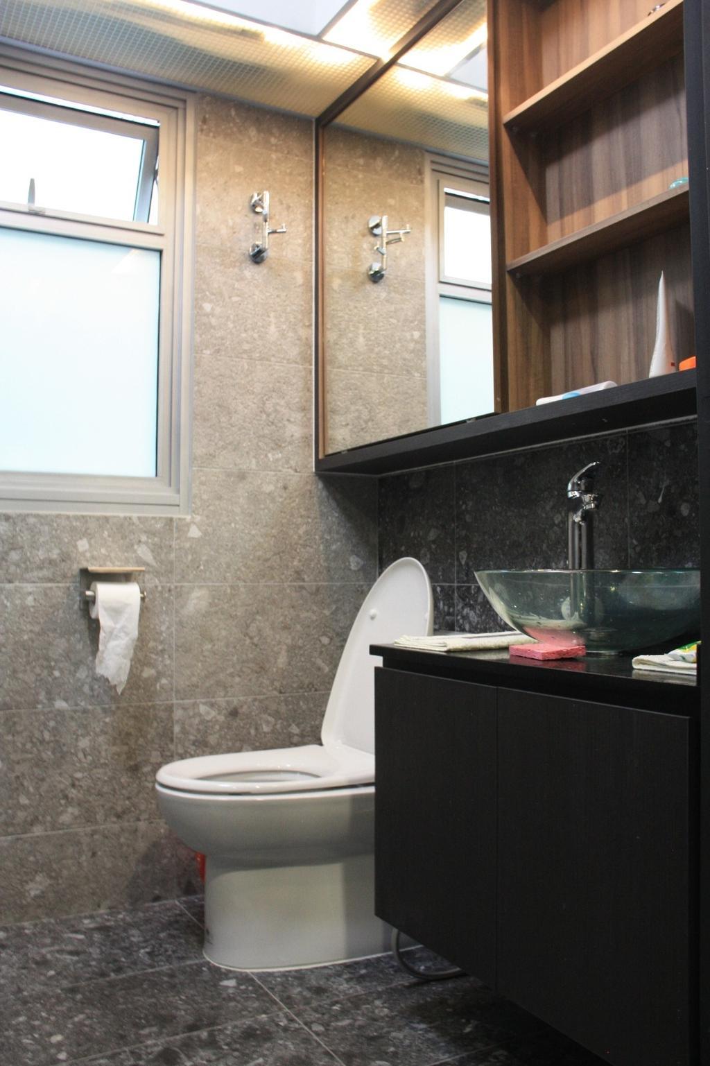 Contemporary, HDB, Bathroom, Sumang Lane, Interior Designer, Step Dezign