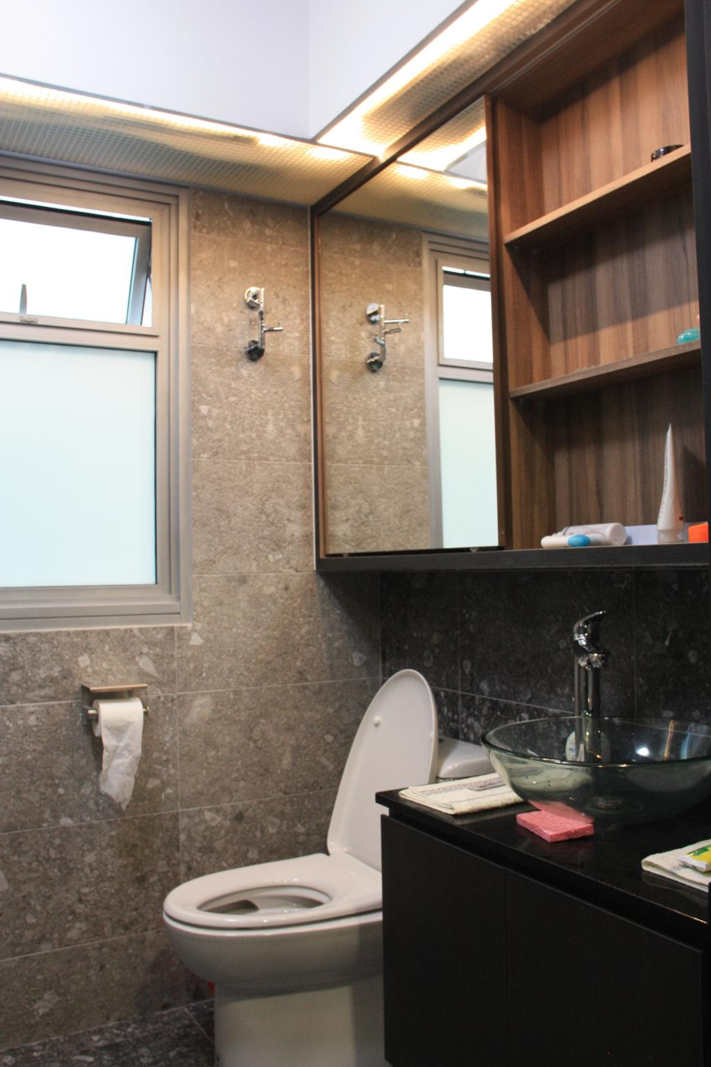 Contemporary, HDB, Bathroom, Sumang Lane, Interior Designer, Step Dezign