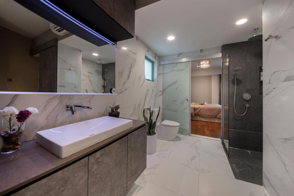 Contemporary, Condo, Bathroom, Hindhede Walk, Interior Designer, The Safe Haven Interiors