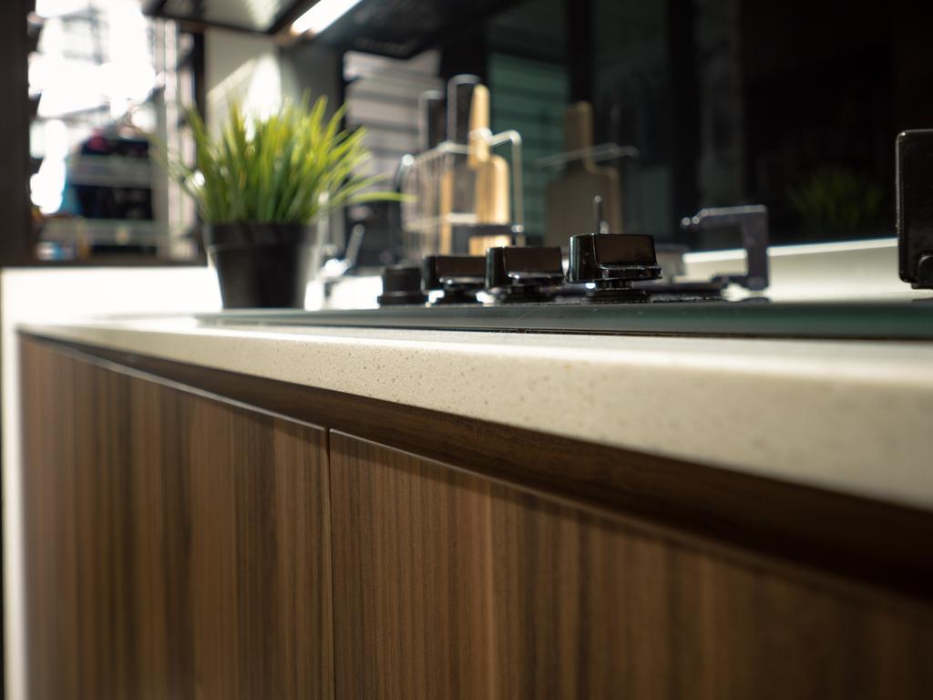 Modern, HDB, Kitchen, Fernvale Link, Interior Designer, The Safe Haven Interiors