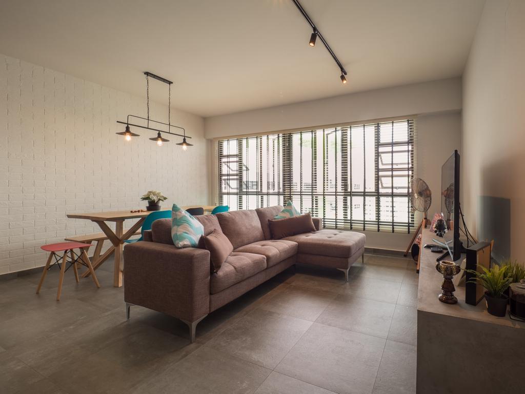 Scandinavian, HDB, Living Room, Edgedale Plains, Interior Designer, The Safe Haven Interiors