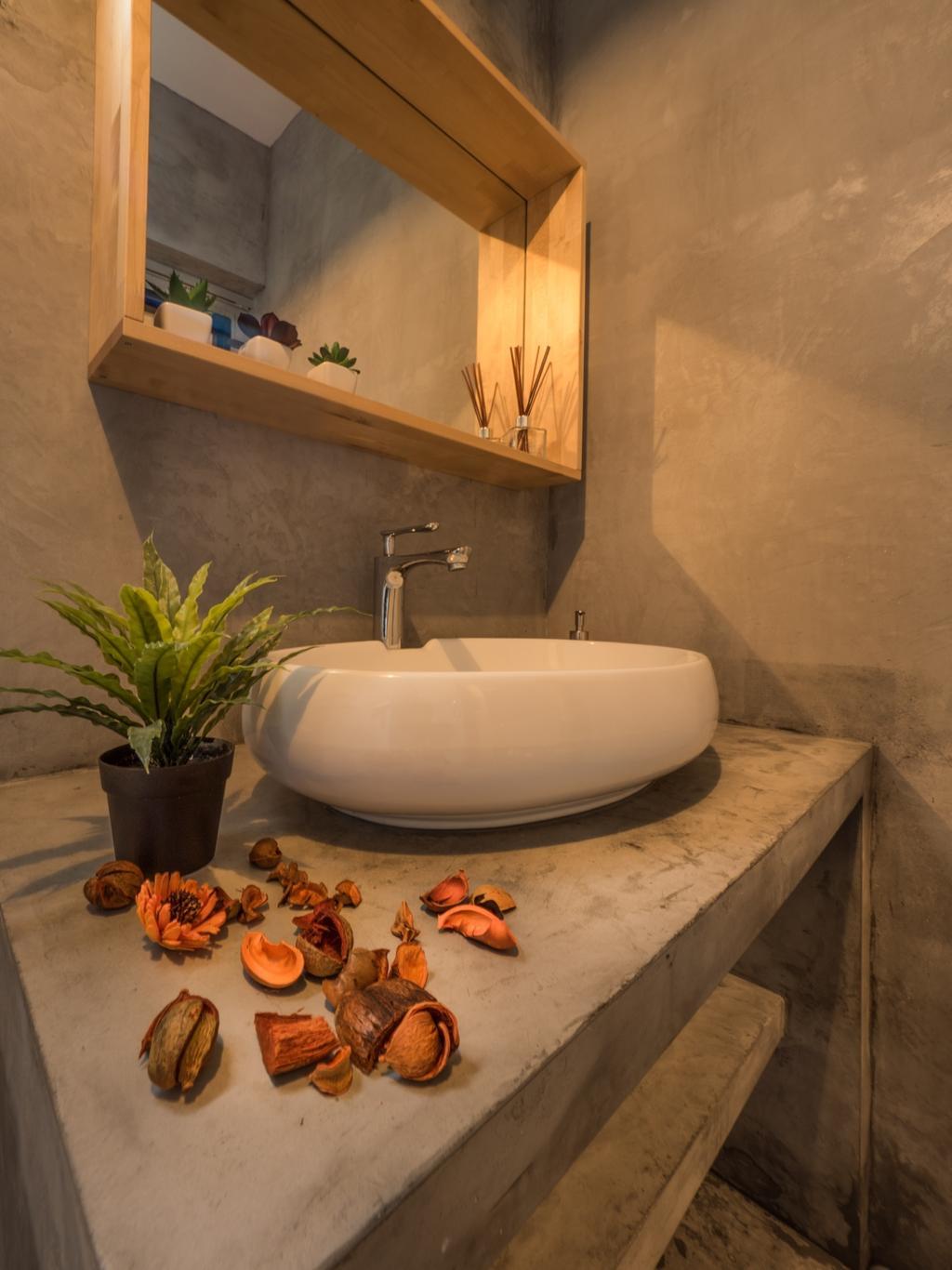 Scandinavian, HDB, Bathroom, Edgedale Plains, Interior Designer, The Safe Haven Interiors