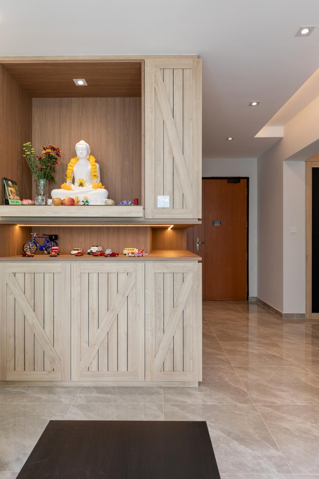 Transitional, HDB, Sembawang Crescent, Interior Designer, Form & Space, Eclectic
