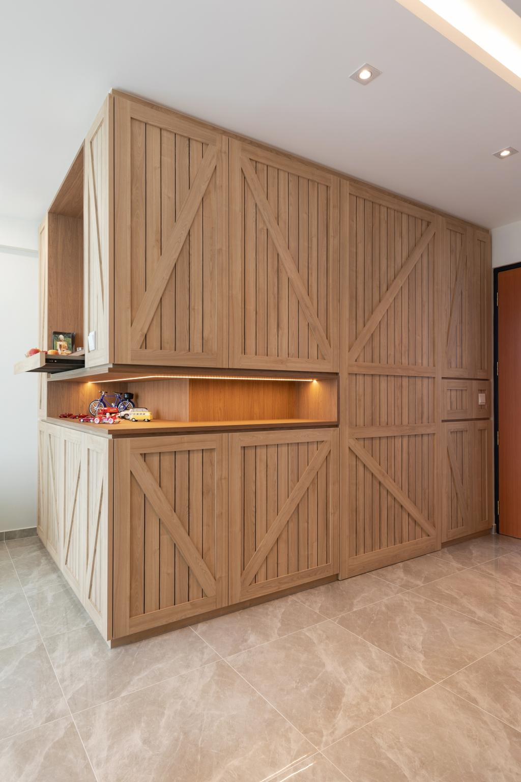 Transitional, HDB, Living Room, Sembawang Crescent, Interior Designer, Form & Space, Eclectic