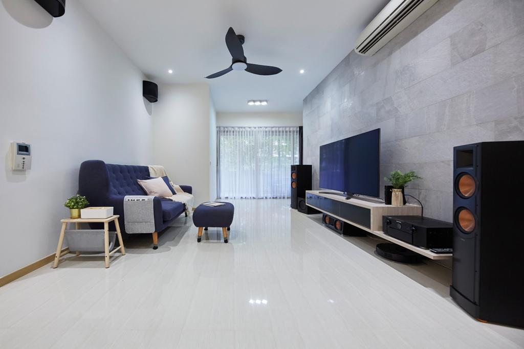 Modern, Condo, Living Room, Terrasse, Interior Designer, The Interior Lab