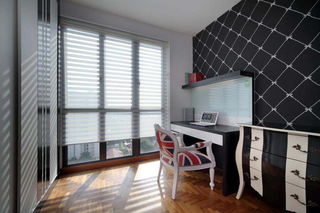 Modern, HDB, Study, Haig Road, Interior Designer, Pavilon BC