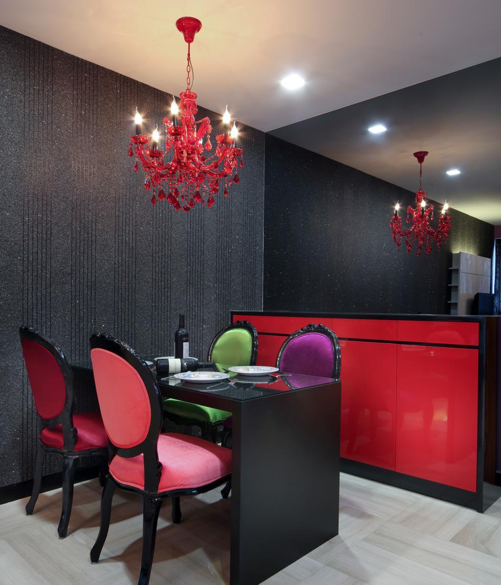Modern, HDB, Dining Room, Haig Road, Interior Designer, Pavilon BC