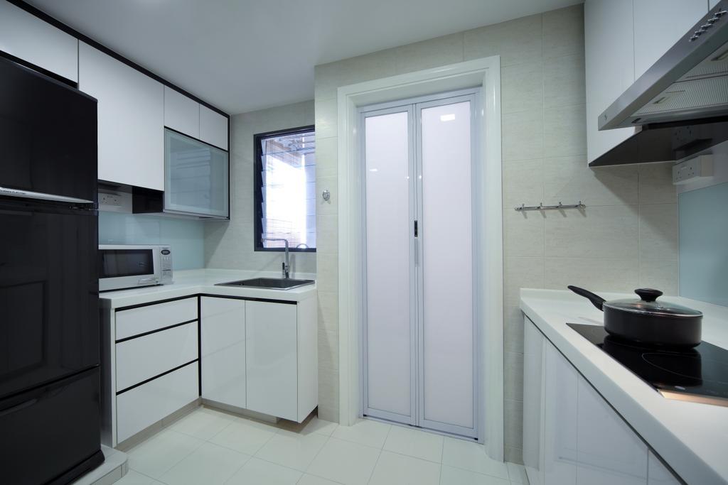 Modern, HDB, Kitchen, Haig Road, Interior Designer, Pavilon BC