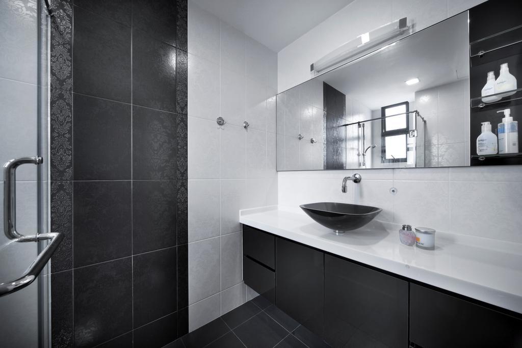 Modern, HDB, Bathroom, Haig Road, Interior Designer, Pavilon BC