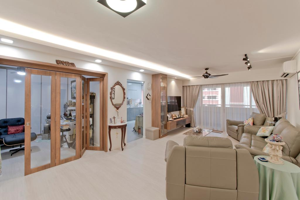 Modern, HDB, Living Room, Pasir Ris Street 52, Interior Designer, Pavilon BC
