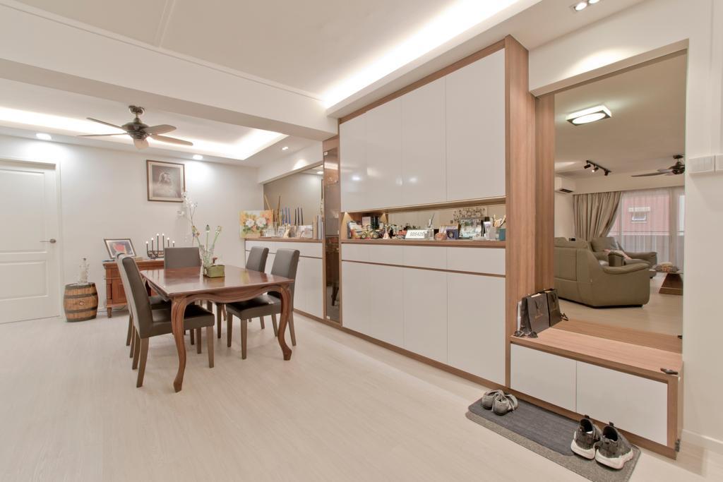 Modern, HDB, Dining Room, Pasir Ris Street 52, Interior Designer, Pavilon BC