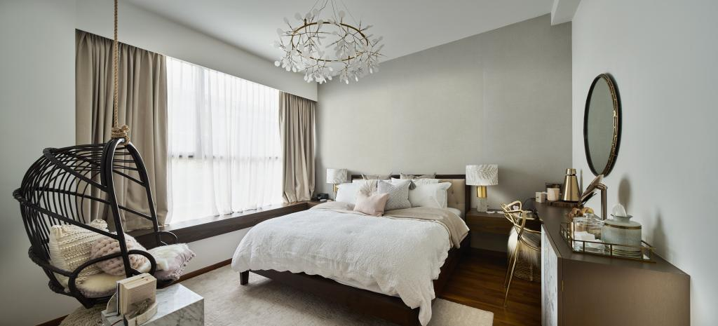 Modern, Landed, Bedroom, Hillview Crest, Architect, PROVOLK ARCHITECTS, Contemporary
