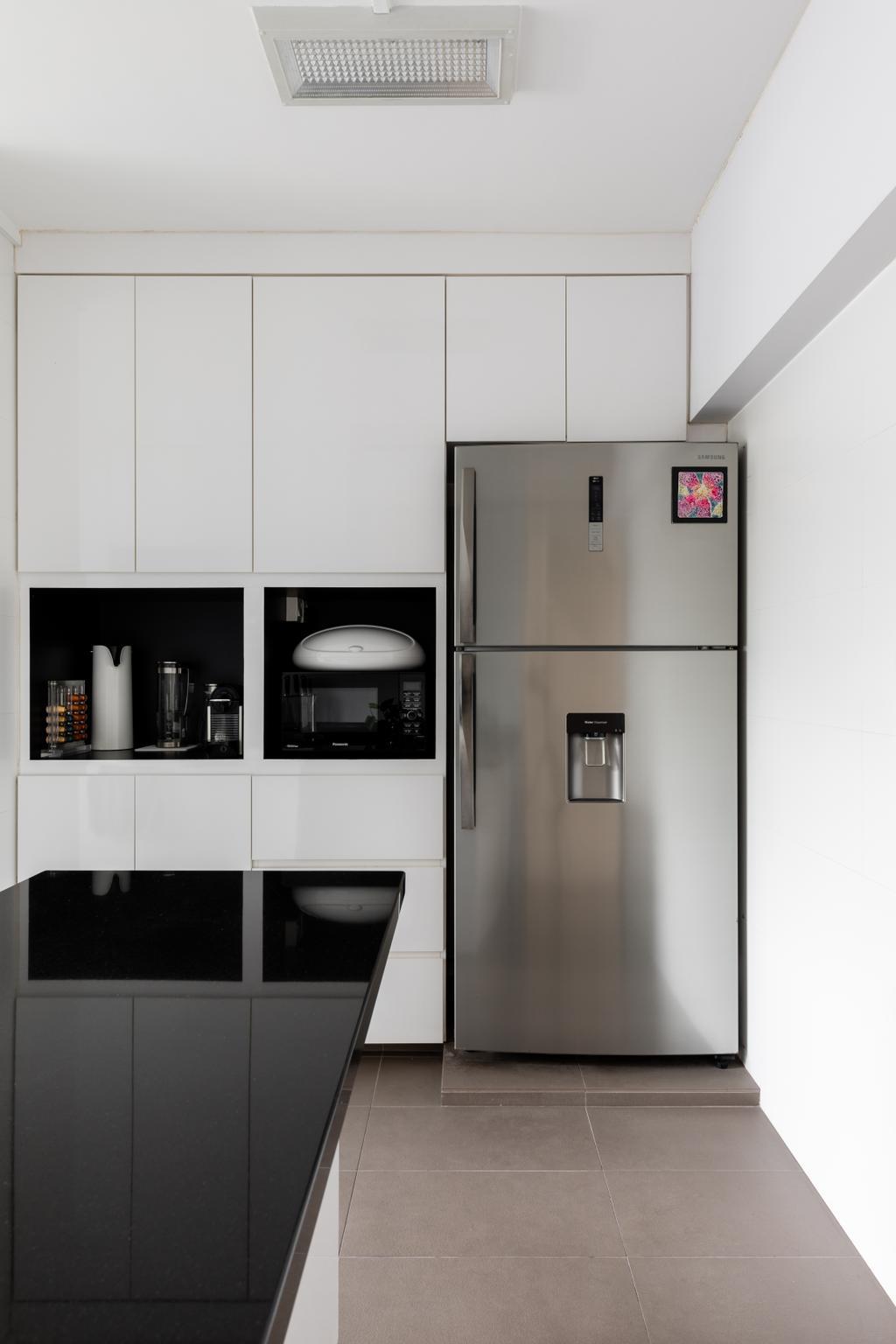 Contemporary, HDB, Kitchen, Chai Chee Avenue, Interior Designer, Goodman Interior, Modern