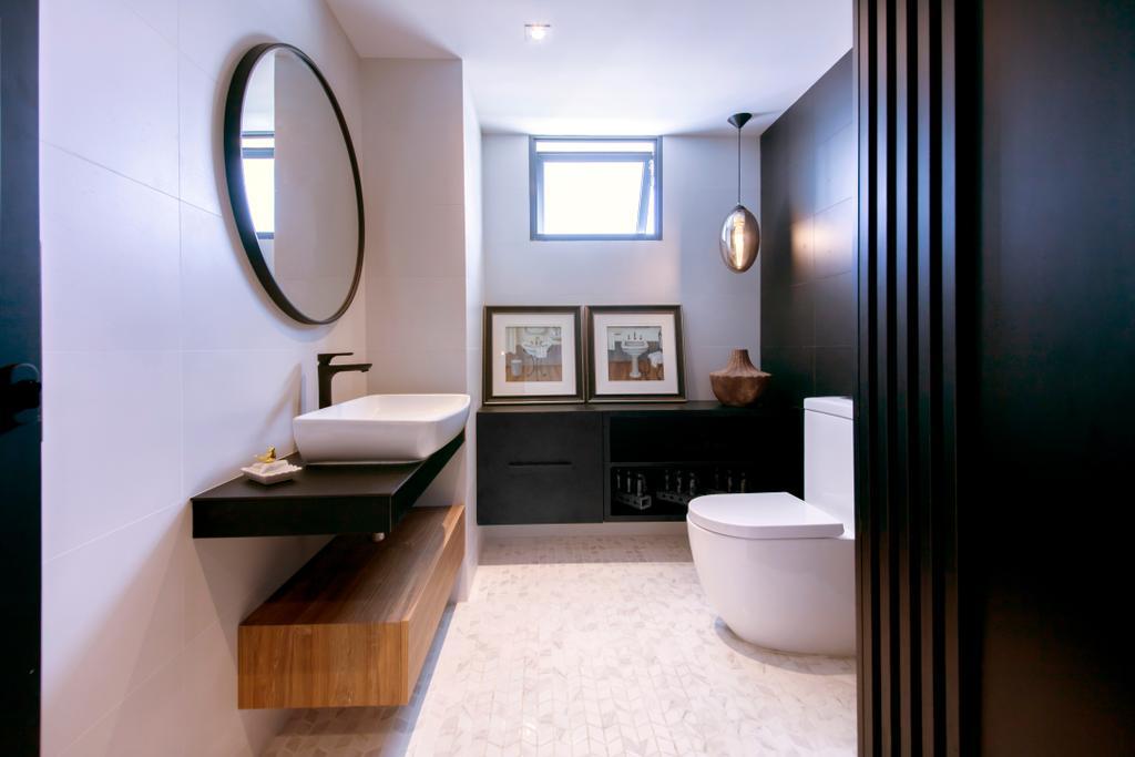 Showroom, Commercial, Interior Designer, Forefront Interior, Bathroom