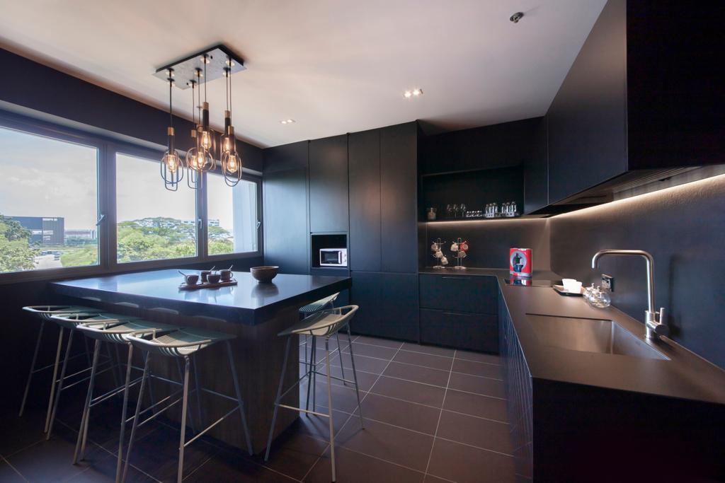 Showroom, Commercial, Interior Designer, Forefront Interior, Kitchen