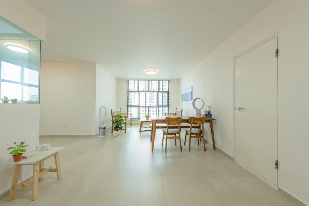 Minimalistic, HDB, Living Room, Senja Road (Block 630), Interior Designer, Tan Studio, Contemporary