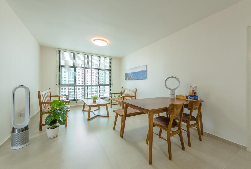 Minimalistic, HDB, Dining Room, Senja Road (Block 630), Interior Designer, Tan Studio, Contemporary