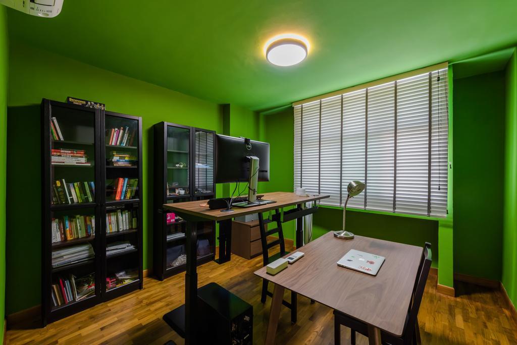 Minimalistic, HDB, Study, Senja Road (Block 630), Interior Designer, Tan Studio, Contemporary
