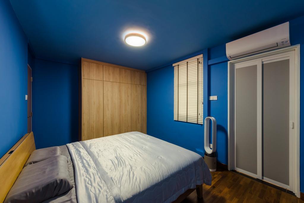 Minimalistic, HDB, Bedroom, Senja Road (Block 630), Interior Designer, Tan Studio, Contemporary