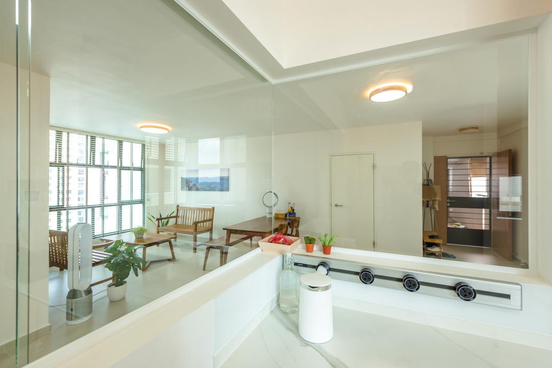 Senja Road (Block 630) Living Room Interior Design 12