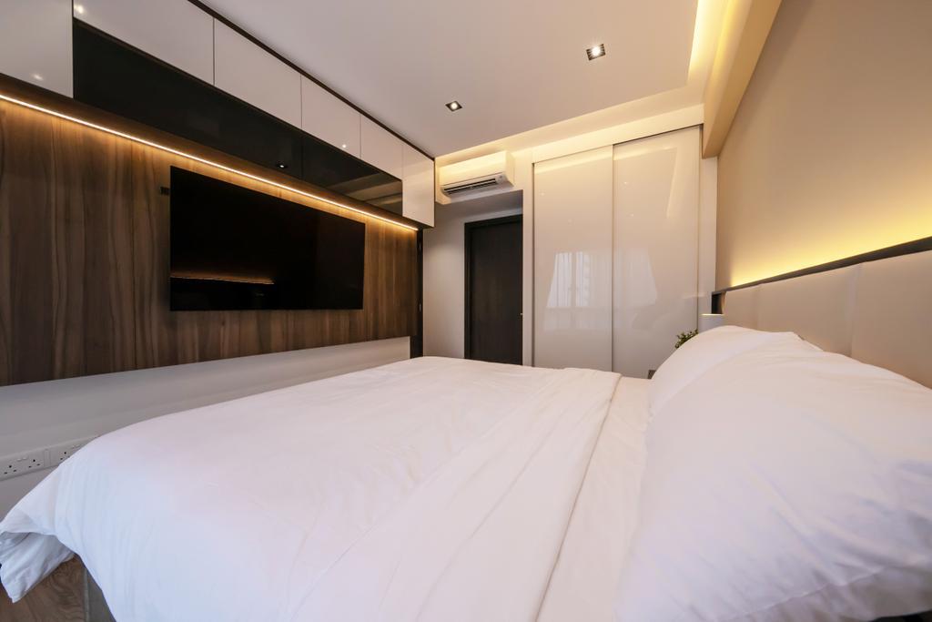 Modern, Condo, Bedroom, Lake Grande, Interior Designer, Space Atelier, Contemporary