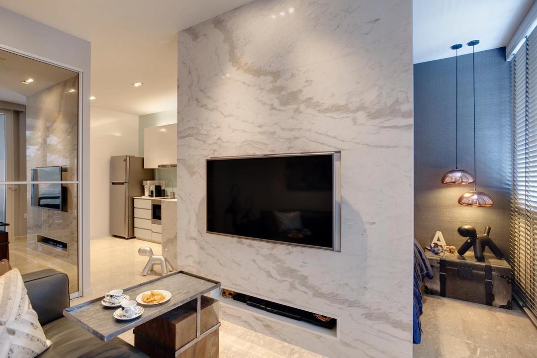 Telok Kurau Road Living Room Interior Design 2