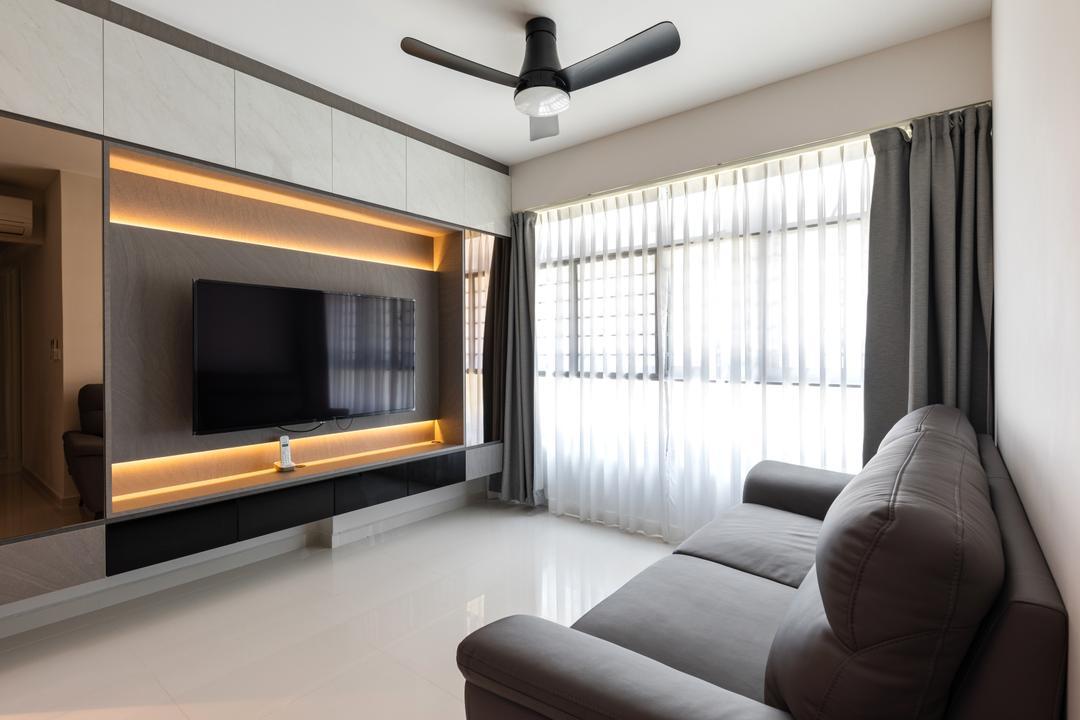 Circuit Road Living Room Interior Design 3
