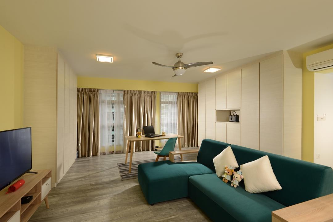 Sumang Walk (Block 322B) Living Room Interior Design 1