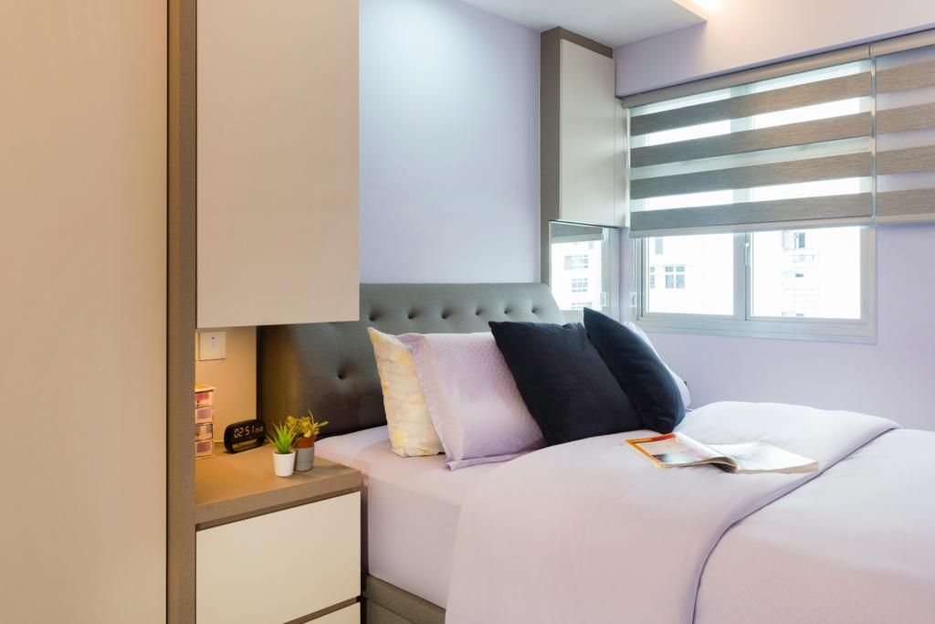 Modern, HDB, Bedroom, St. George's Lane, Interior Designer, Great Oasis Interior Design