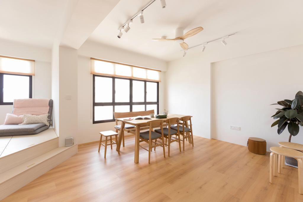 Minimalistic, HDB, Dining Room, Toa Payoh East (Block 263), Interior Designer, Charlotte's Carpentry
