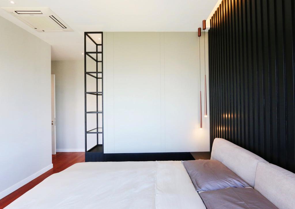 Modern, Condo, Bedroom, Pavillion Hilltop, Mont Kiara, Interior Designer, Line2pixels, Contemporary
