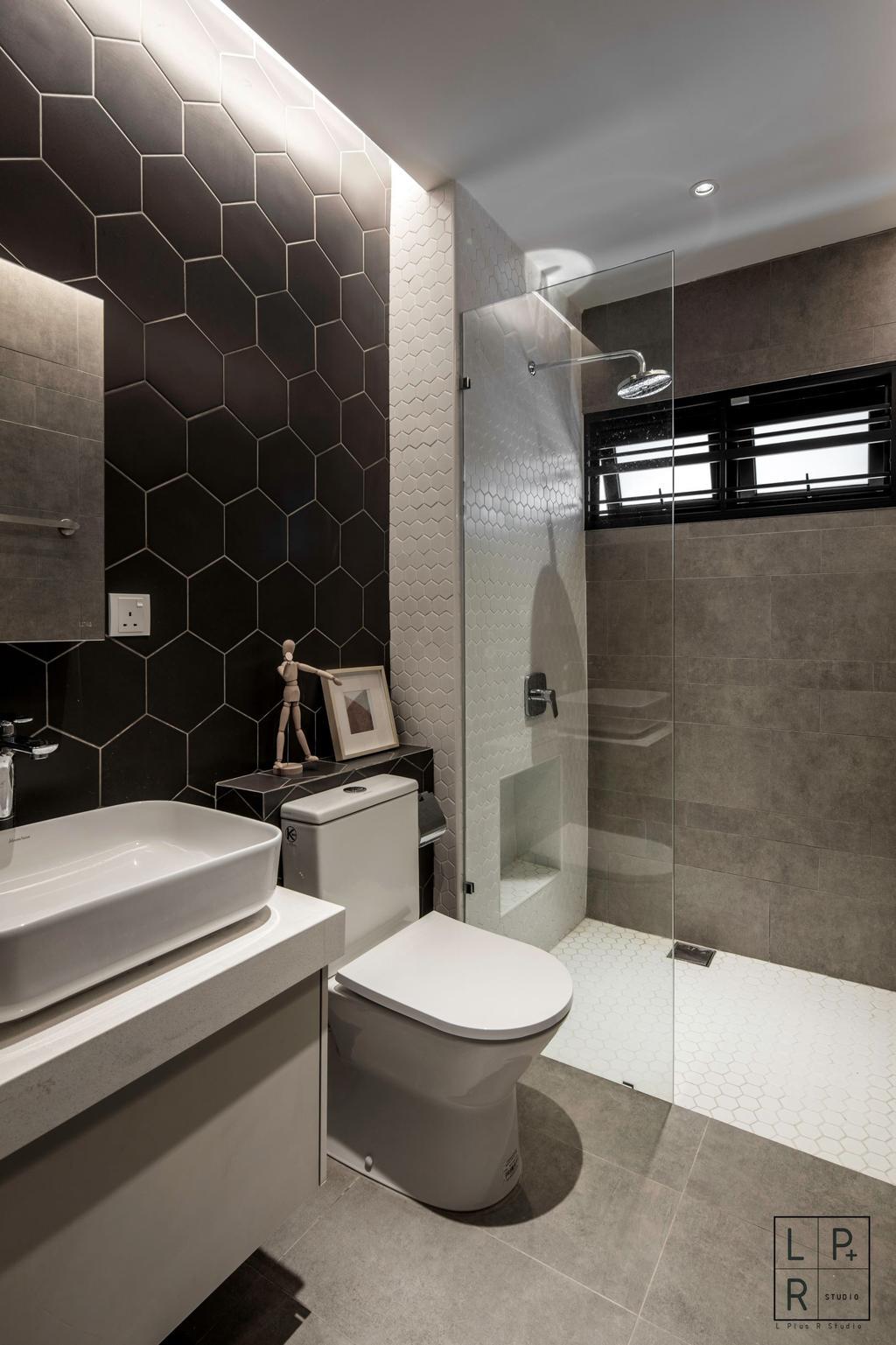 Modern, Landed, Bathroom, Kajang, Interior Designer, L Plus R Interior Design and Renovation, Minimalistic, Contemporary