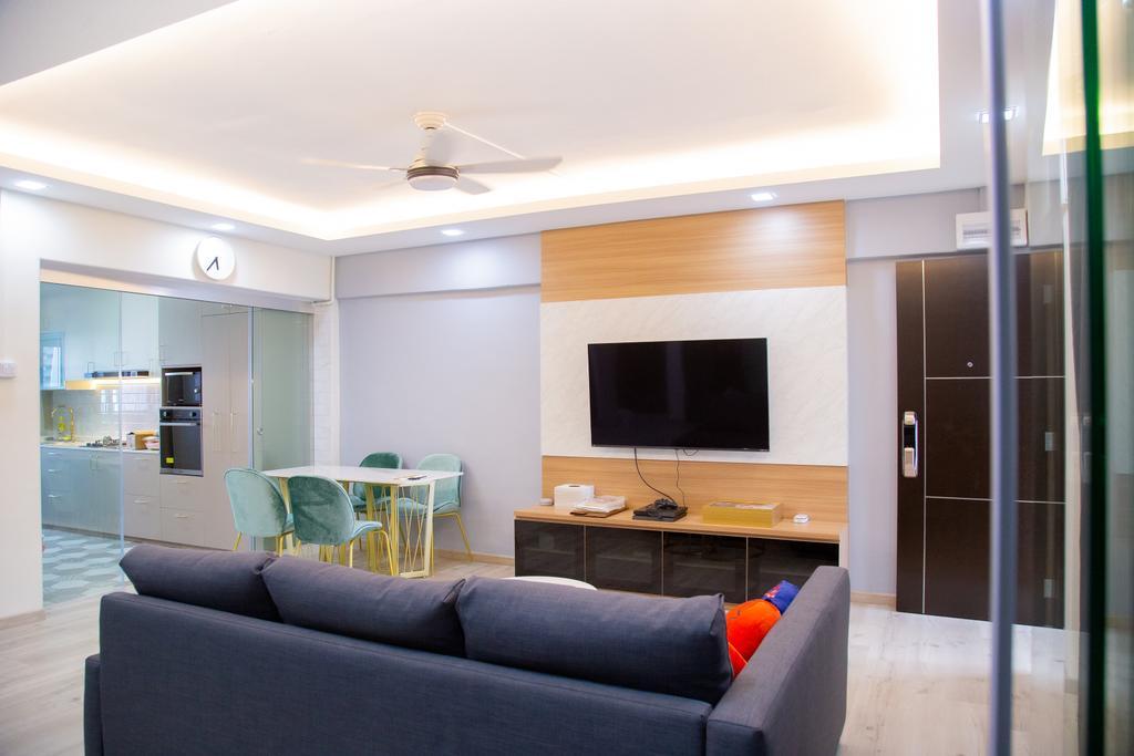 Contemporary, HDB, Living Room, Potong Pasir Avenue 1, Interior Designer, Laurus Design