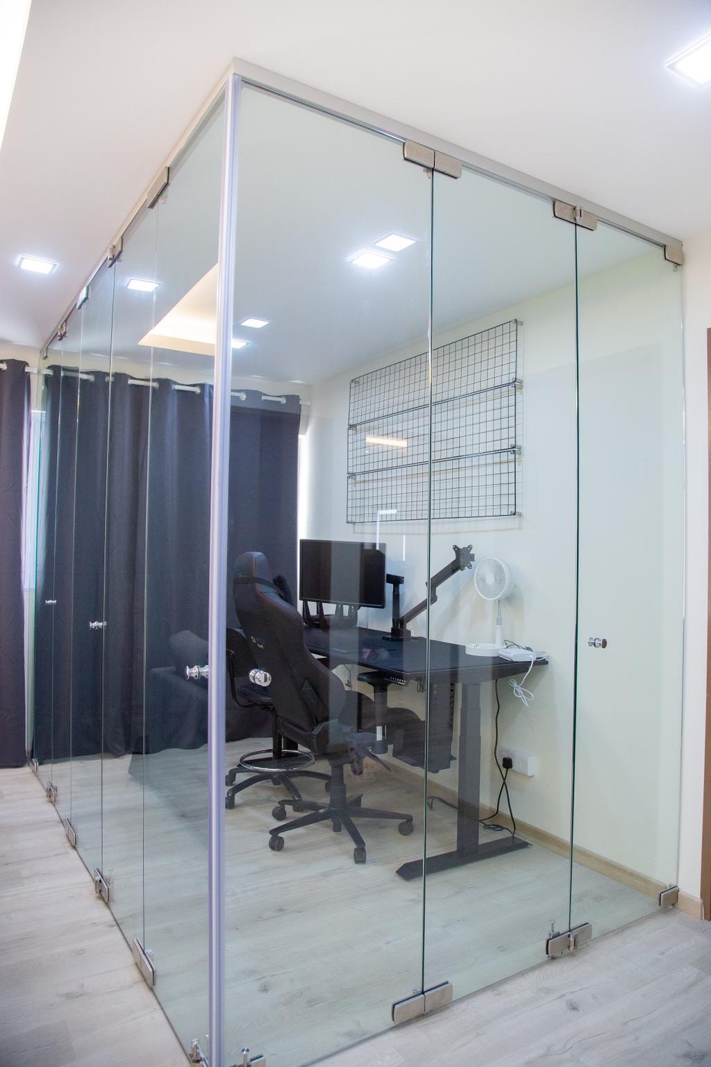 Contemporary, HDB, Study, Potong Pasir Avenue 1, Interior Designer, Laurus Design