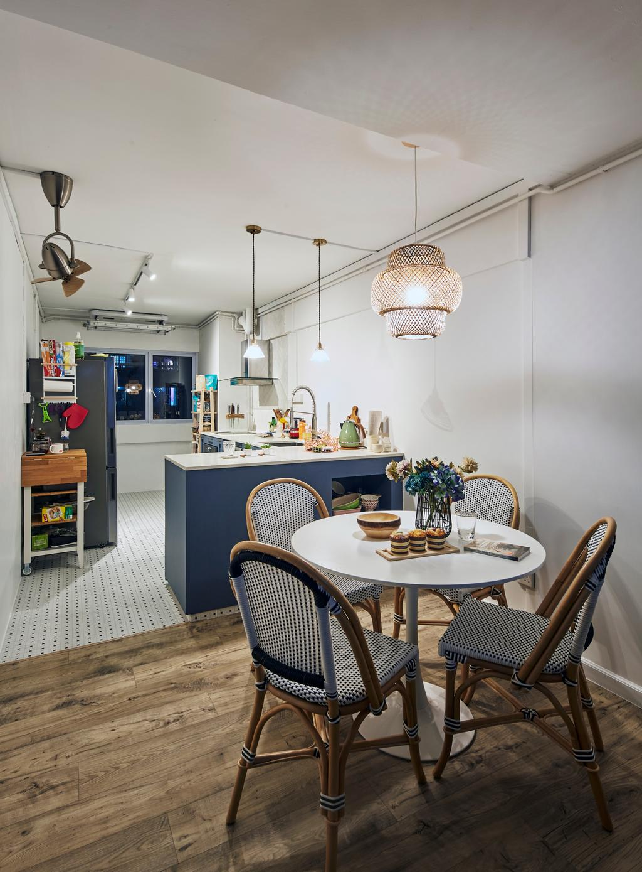 Minimalistic, HDB, Dining Room, Tampines Street 41, Interior Designer, MET Interior, Scandinavian