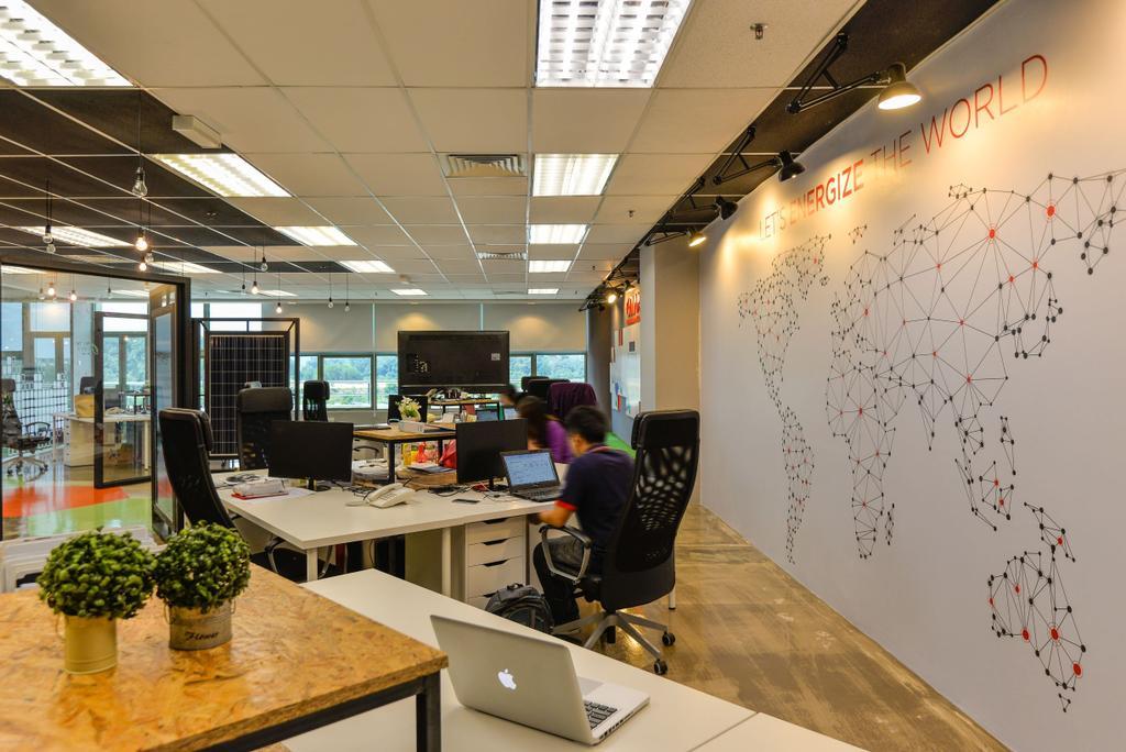 Plus Solar Office, TPM Bukit Jalil, Commercial, Interior Designer, GI Design Sdn Bhd, Modern