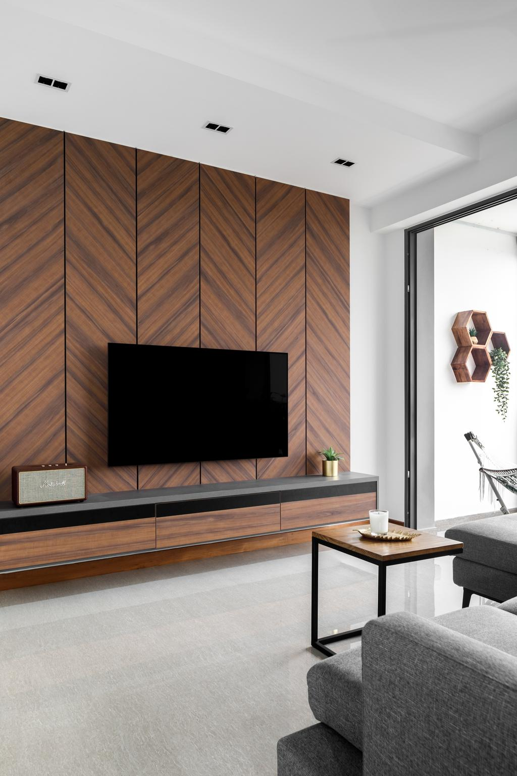 Modern, Condo, Living Room, The Criterion, Interior Designer, Anhans Interior Design, Scandinavian