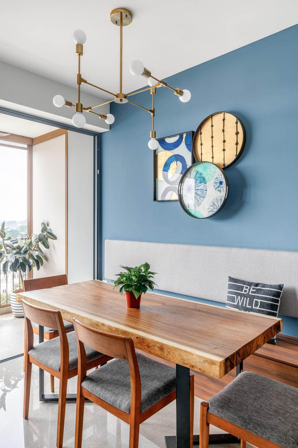 Modern, Condo, Dining Room, The Criterion, Interior Designer, Anhans Interior Design, Scandinavian