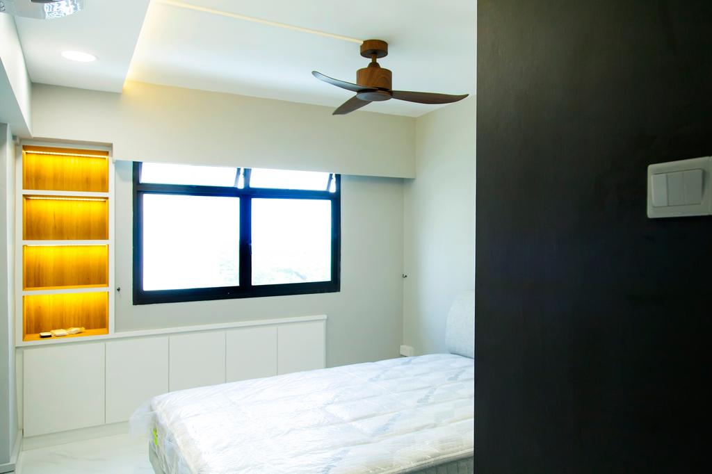 Contemporary, HDB, Bedroom, Rivervale Drive, Interior Designer, Mink Design