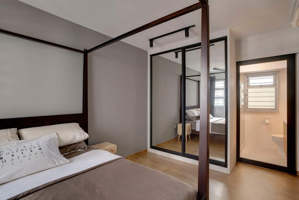 Minimalistic, HDB, Bedroom, Sumang Lane, Interior Designer, Space Factor