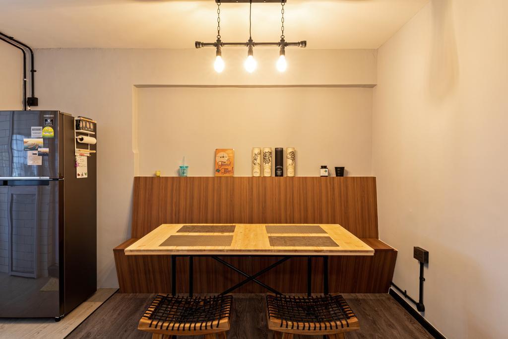 Contemporary, HDB, Dining Room, Eunos Road 5, Interior Designer, Butler Interior